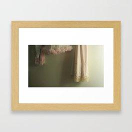 Slips Framed Art Print