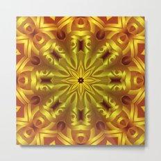 kaleidoscope Flower G185 Metal Print