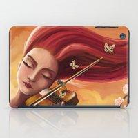 violin iPad Cases featuring Violin by Negin Armon