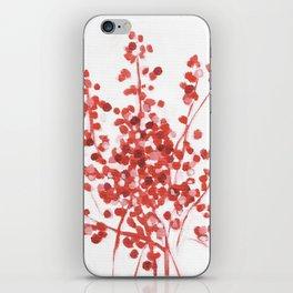 Winter Berries iPhone Skin