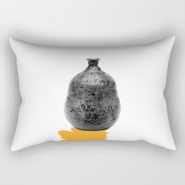 VESSEL AND ITS DRAWN SHADOW i Rectangular Pillow