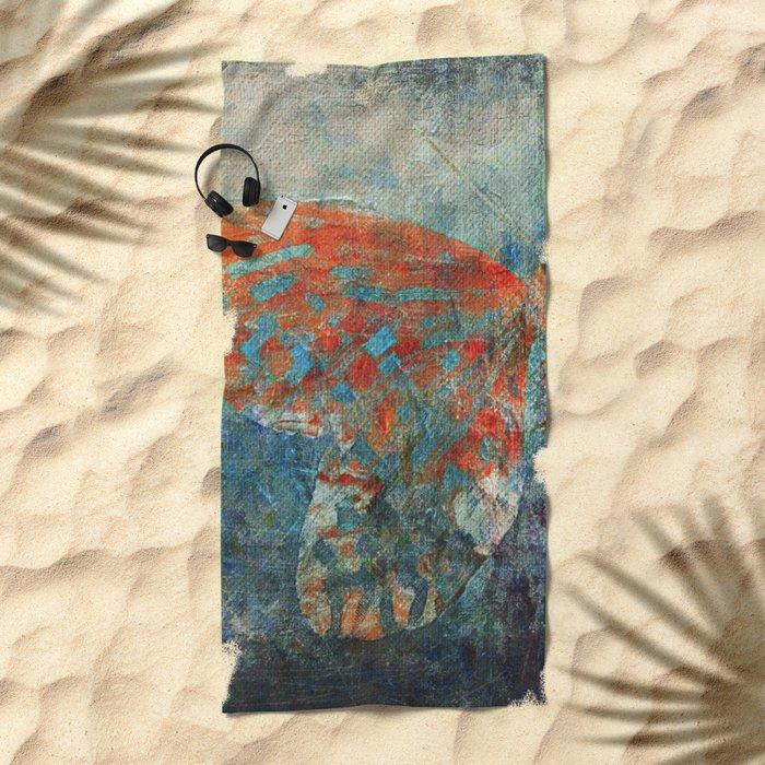 Moths 4 Beach Towel