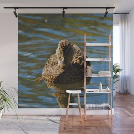 Mother Mallard  Wall Mural