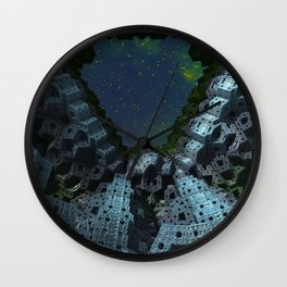 Fractalized Void Wall Clock