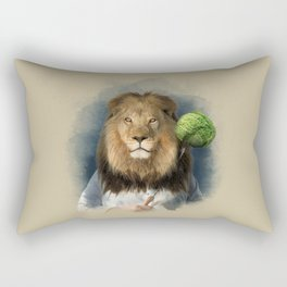The lion's share Rectangular Pillow