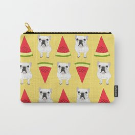 Frenchies love watermelon too! Carry-All Pouch