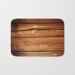 Rustic Wooden Planks  Wood Board Country Gifts Bath Mat