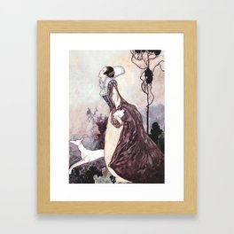 """""""Some Glory In Their Birth"""" Fairy Art by Charles Robinson Framed Art Print"""