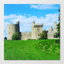Castle on a hill Canvas Print