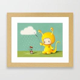 The Nature Lover Framed Art Print