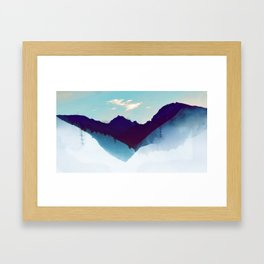 floatin world Framed Art Print