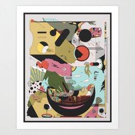 Noodllrtjito Art Print