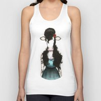amy poehler Tank Tops featuring Amy by J. Neto