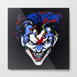 CLOWN FRIEND OR FOE Metal Print