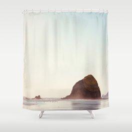 Cannon Beach - Nature, Landscape Photography Shower Curtain
