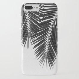 Palm Leaf Black & White II iPhone Case