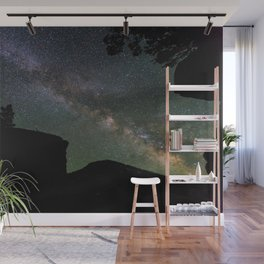 Milky Way Over Firehole Lake Wall Mural