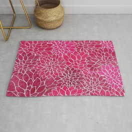 Floral Abstract 19 Rug