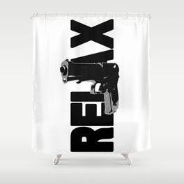 RELAX. Shower Curtain