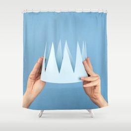 Coronation day Shower Curtain