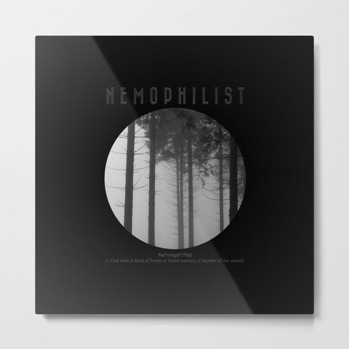 Nemophilist V Metal Print