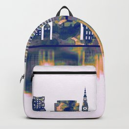 Gdansk Skyline Backpack