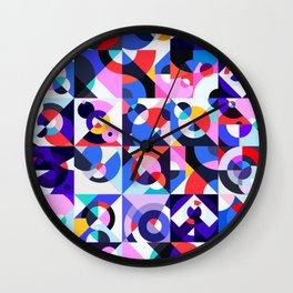 Kleurstaal Wall Clock