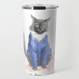 Mr. Darcy As Mr. Darcy Travel Mug