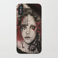 inner demons iPhone & iPod Cases featuring INNER DEMONS by Sheena Pike Art & Illustration
