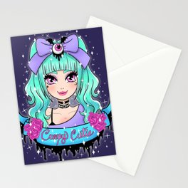 Creepy Cutie Stationery Cards