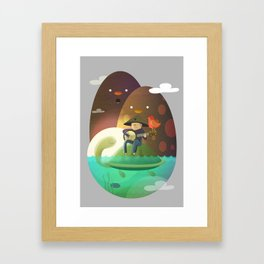 Island Lullaby Framed Art Print