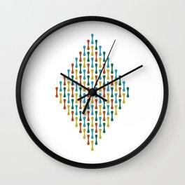 Chromosome   White Wall Clock