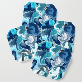 Blue marble Coaster