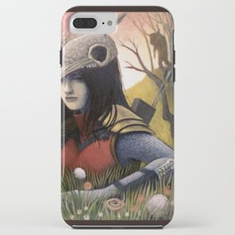 Armadillo Girl iPhone Case