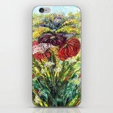 Fantasy Flowers iPhone & iPod Skin