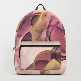 Goddess - Pink and Gold Backpack