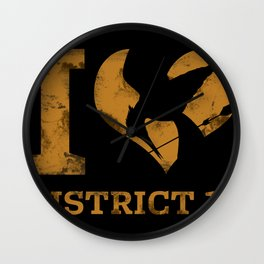 I LOVE DISTRICT 12 Wall Clock
