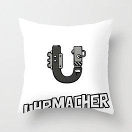Uhrmacher Uhr Uhren Reparatur Zahnrad Unruh Steine Throw Pillow