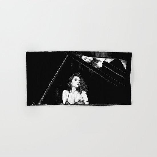 asc 655 - La pianiste (Romanian rhapsody) Hand & Bath Towel