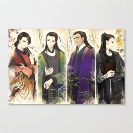 4 Great Hell Judges Canvas Print