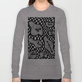 Trippy Clock Long Sleeve T-shirt