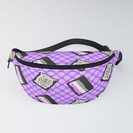 Asexual Pride Tarts Fanny Pack