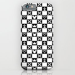 Kingdom Hearts pattern iPhone Case