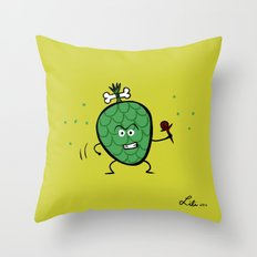 Cherimoya Throw Pillow