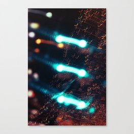 Music and Light Canvas Print
