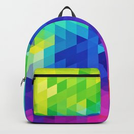 Abstract LGBT Pattern Backpack