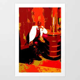 Cotton Club The Man Art Print