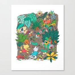 Camping Trip Canvas Print