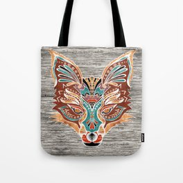 Zorro! (Bohemian Fox) Tote Bag