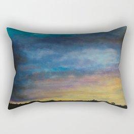 Skymningstiden Rectangular Pillow